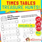 Times Tables Treasure Hunt