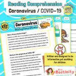 KS2 Coronavirus Reading Comprehension Activity