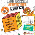 Home Learning Activity Dice