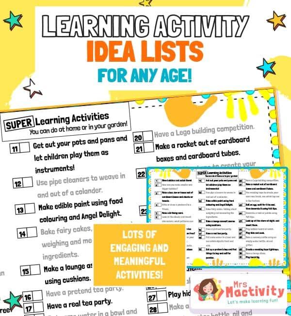 Children's Life Skills Learning Activities