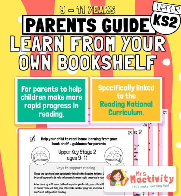 Help Your Child to Read at Home Age 9-11