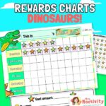 Dinosaurs Reward Chart