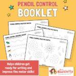Pencil Control Practice Booklet