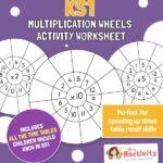 KS1 Multiplication Wheels Worksheets