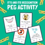 It's and Its Peg Activity