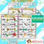 The Flower Shop Flower Price List