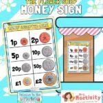 the flower shop money poster