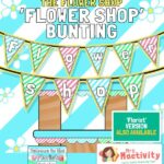 The Flower Shop Display Bunting