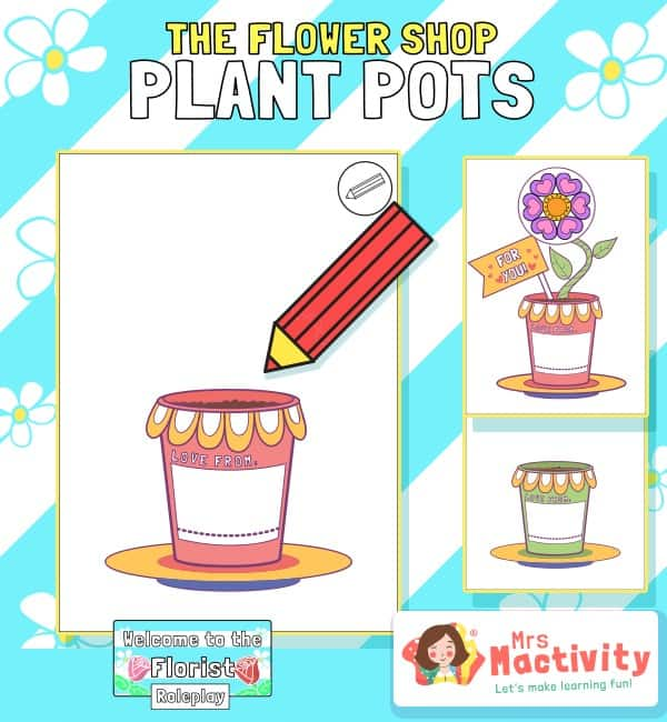 The Flower Shop Plant Pots