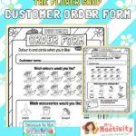 The Flower Shop Florist Order Forms