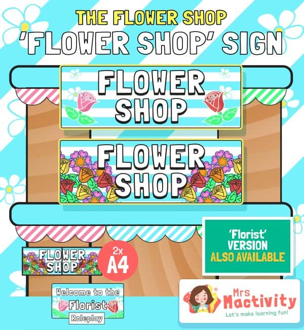 The Flower Shop Welcome Banners