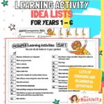 Super Home Learning Activities Years 1-6