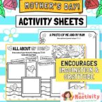 Mother's Day all about my mum activity sheet