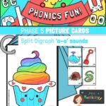 Phase 5 Split Digraph Cards