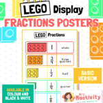 Lego Fractions Poster
