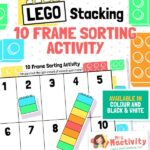Lego Stacking Frame Sorting Activity