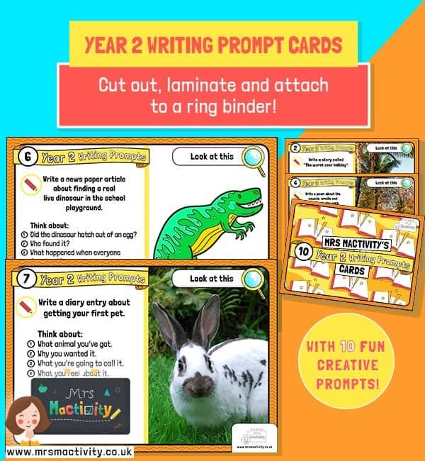 Year 2 Writing Prompt Cards