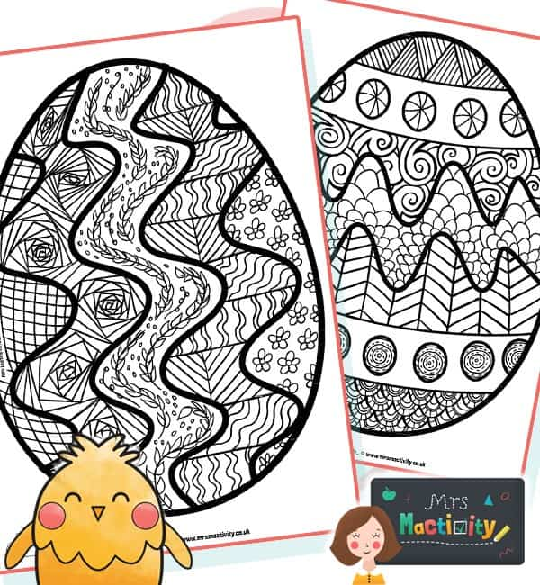 Easter Mindfulness Colouring