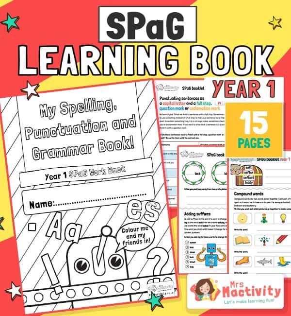 year 1 SPaG assessment