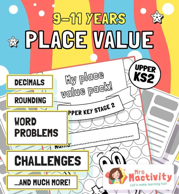 Upper KS2 (9-11) Place Value Unit Pack