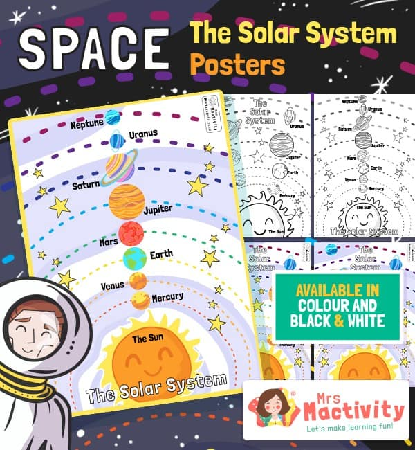 Space and The Solar System Posters