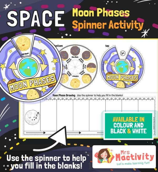 The Phases of the Moon Ordering Activity