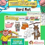 Three Little Pigs Word Mats