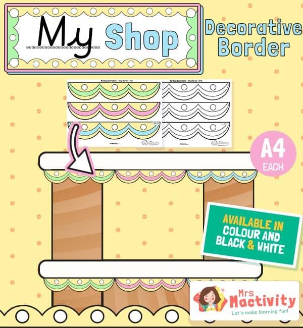 Shop Role-Play Display Border
