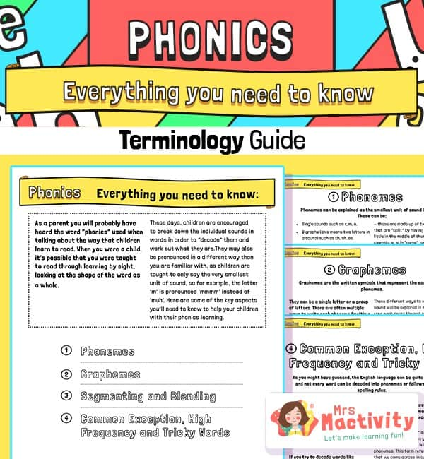 Everything You Need to Know About Phonics - Parents' Guide