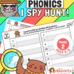 Phase 2 Phonics (Age 4-5) I Spy Hunt Activity