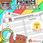 Phase 3 Phonics I Spy Hunt Activity