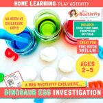 Phase 2 (Age 4-5) Home Learning Dinosaur Eggs Activity