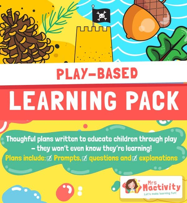 Play based learning activity pack