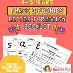phase 2 letter formation booklet