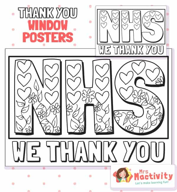NHS Thank You Posters