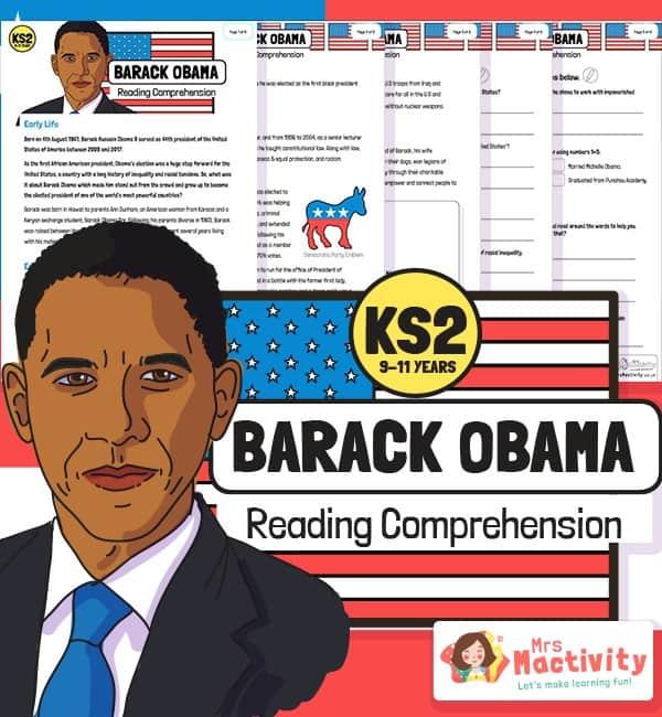 Barack Obama Reading Comprehension
