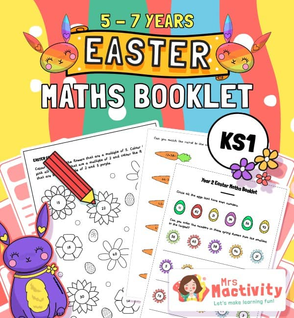 Age 5-7 (KS1) Easter Maths Booklet