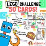 50 Lego challenge cards