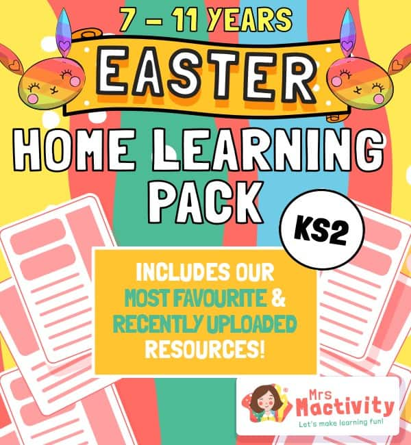 Age 7-11 (KS2) Easter Home Learning Resource Pack