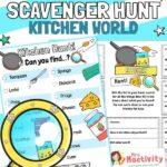 Kitchen Scavenger Hunt