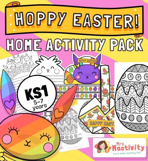 KS1 Easter Home Learning Activity Pack