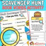world book day book scavenger hunt