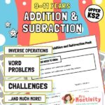 Upper KS2 (9-11) Addition and Subtraction Unit Pack