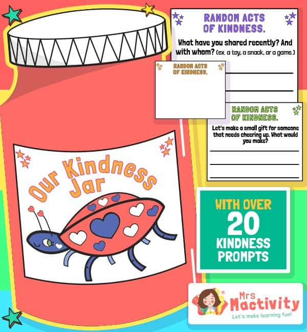 Lockdown Kindness Jar Activity