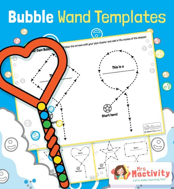 Create a Bubble Wand Activity