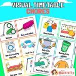 Chores visual timetable