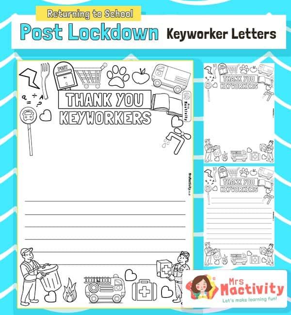 Post Lockdown Key Worker Thank You Letters