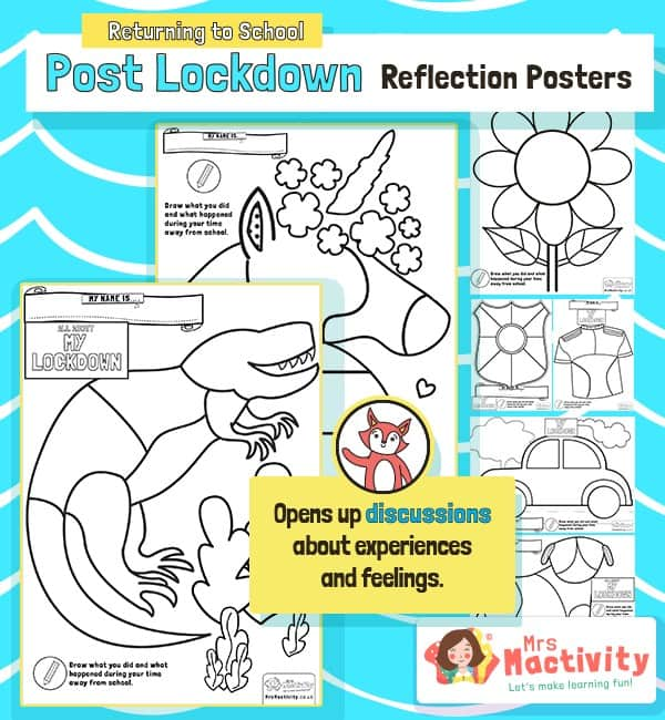 Post Lockdown Reflection Posters