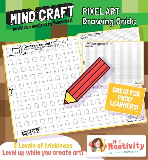 Mind-Craft Drawing Sheet Grids