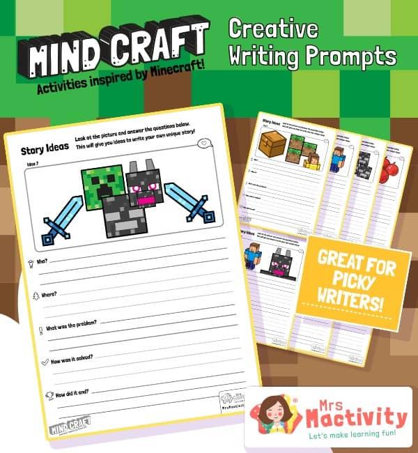 Minecraft creative writing prompts
